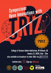TRIZ Symposium - Jan 21