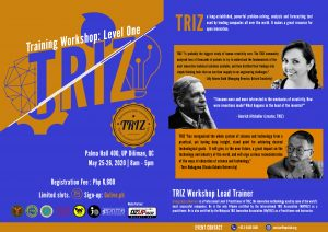 May 25-26 TRIZ Innovation Training