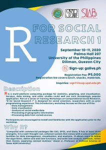 R for Social Research 1